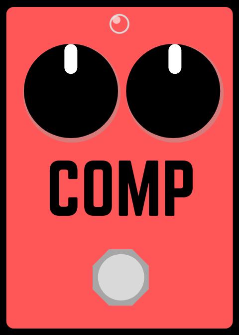 comp pedal