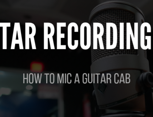 Guitar Recording 101