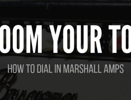 Best Marshall Amp Settings