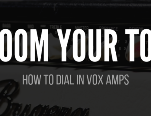 Best Vox Amp Settings